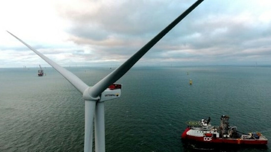 The final turbine has been installed at the Horns Rev 3 offshore windfarm in Denmark