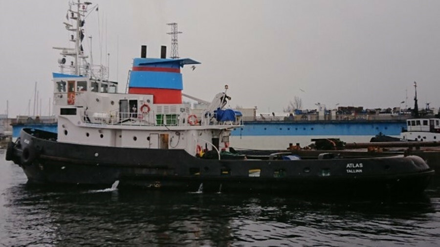 Alfons Håkans operates a fleet of icebreaking tugs, such as 32.5-m Atlas in Baltic ports