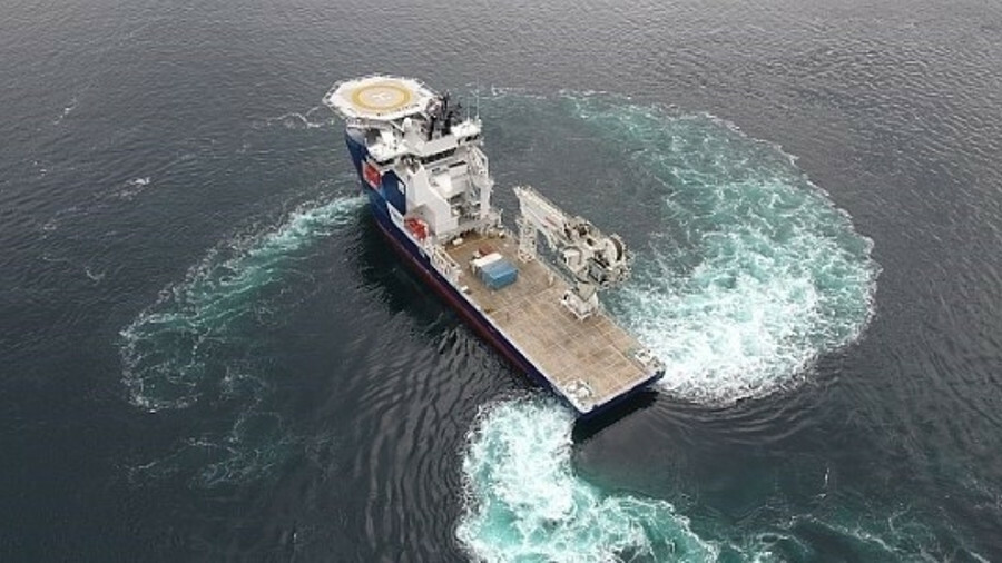 Topaz Tangaroa, which is a sister vessel to Topaz Tiamat (shown here) will work primarily in support
