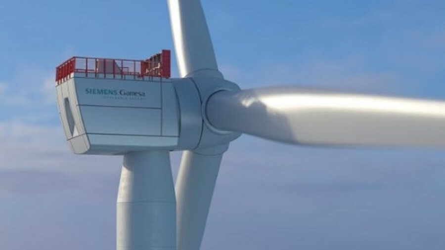 Siemens Gamesa's SG 10.0-193 DD has a 193-m diameter rotor and will make use of the company's proven