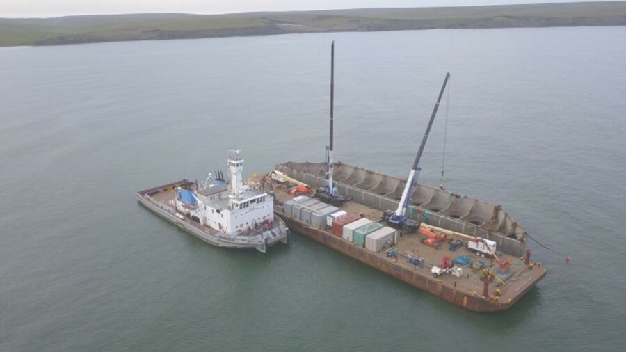 On the Tarsiut Drilling Island project Ardent had five weeks to deliver the project