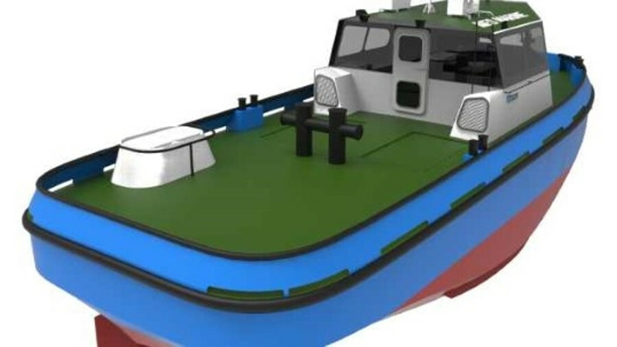Med Marine will built a 14-m line handler to a Tomay Ship Design