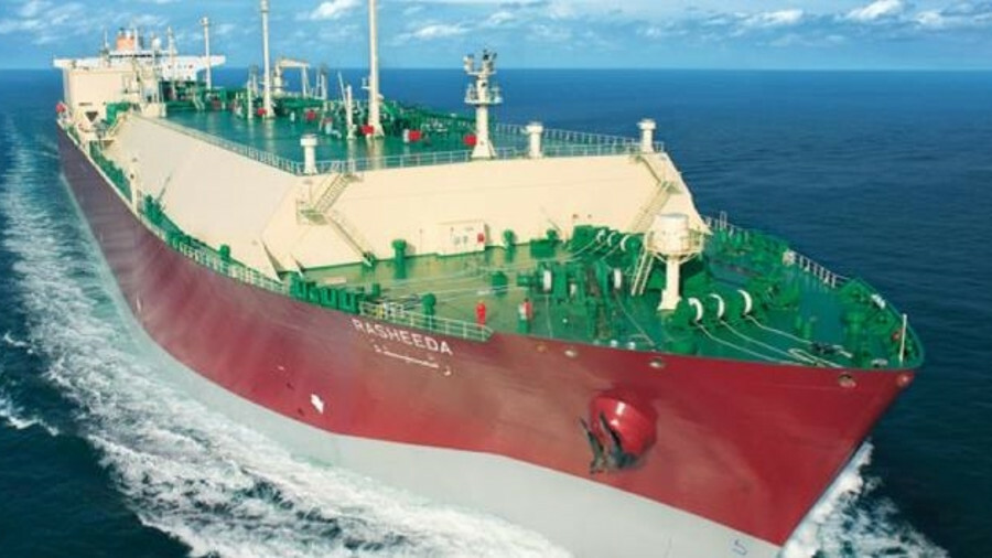 266,000m3 Rasheeda, owned by Nakilat, is a Q-Max LNG carrier built in 2010 (credit: Qatargas)