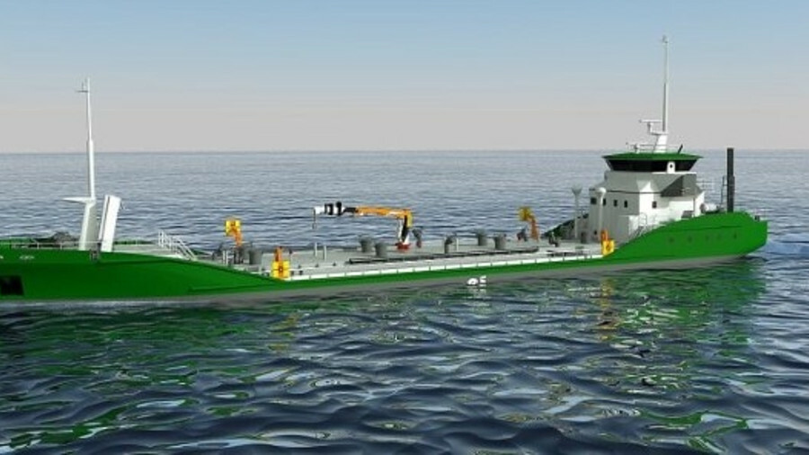 Asahi Tanker and Exeno-Yamamizu Corporation's all electric e5 bunker tanker design