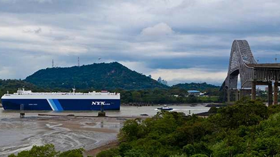 Technology can assist navigators on a car carrier sailing in a busy shipping channel