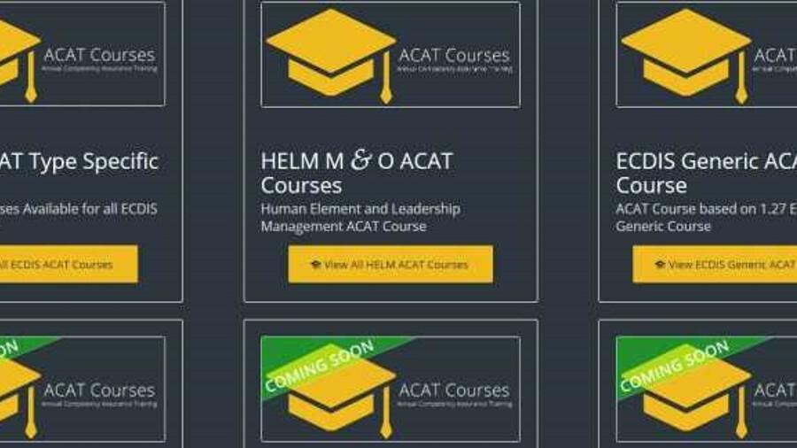 eMaritime Training provides a host of ECDIS and e-navigation training