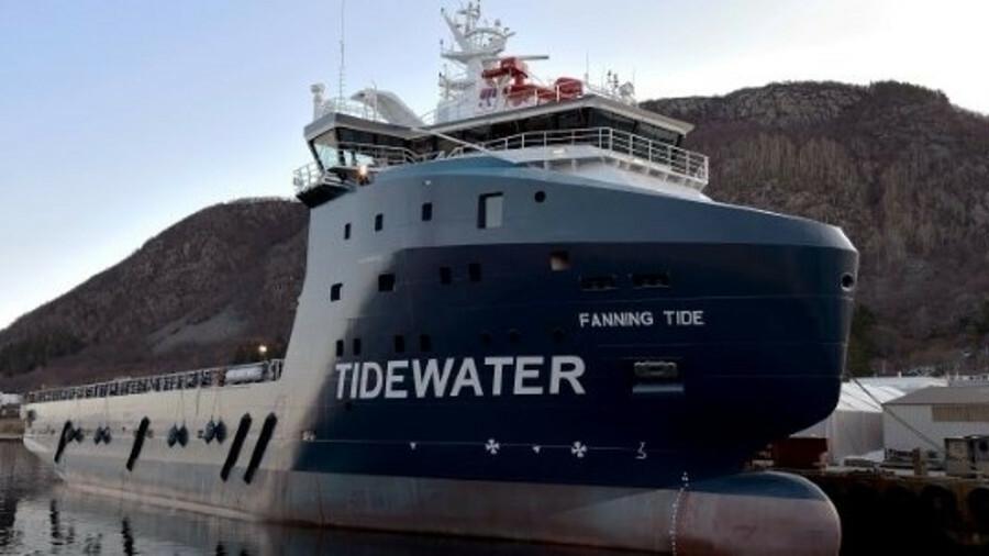 Tidewater will upgrade e-navigation software on a fleet of OSVs