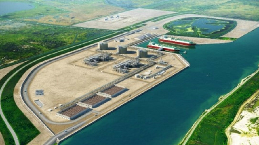The proposed Port Arthur LNG projects would encompass two liquefaction trains, each with a capacity