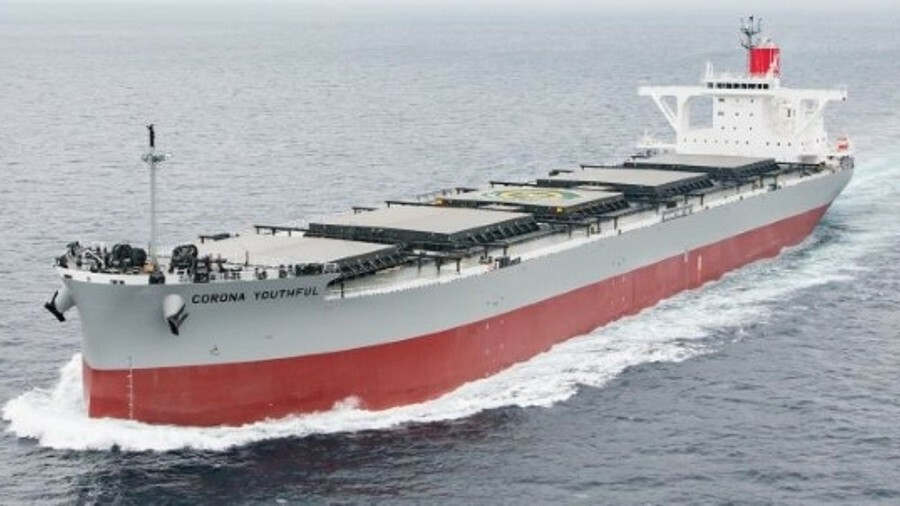 A K Line coal carrier will host the binary cycle system for a three-year trial