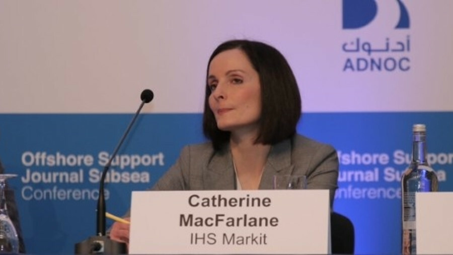 Catherine MacFarlane (IHS Markit): Utilisation is expected to improve slowly, and day rates will mak