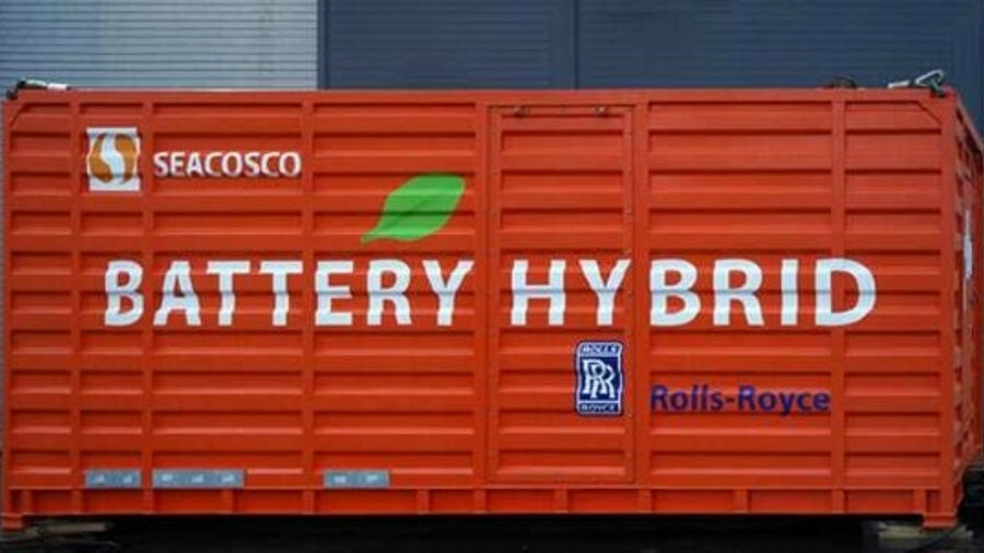 Rolls-Royce Marine is supplying containerised batteries to PSVs that COSCO is building in China