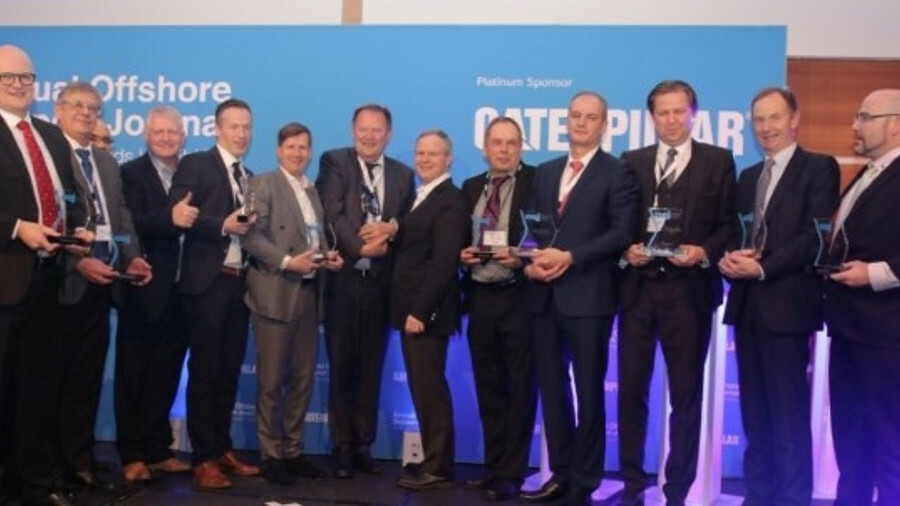 Award winners included Seacor Marine Holdings for Shipowner of the Year, John Gellert for OSJ Indust