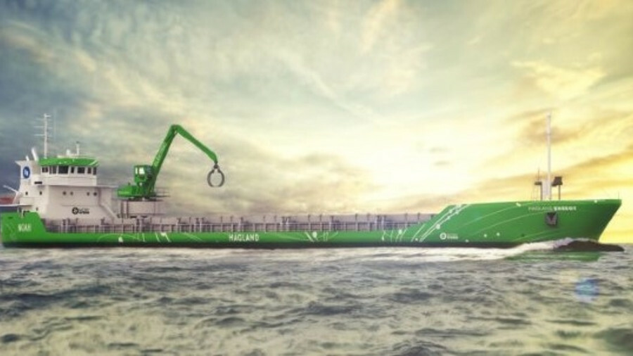 Batteries will allow the vessel to sail in and out of the harbour with no emissions