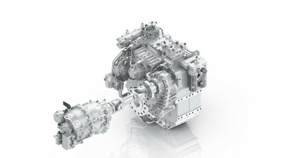 Additional power take-ins and an in-house electrical motor feature in ZF's hybrid transmission famil