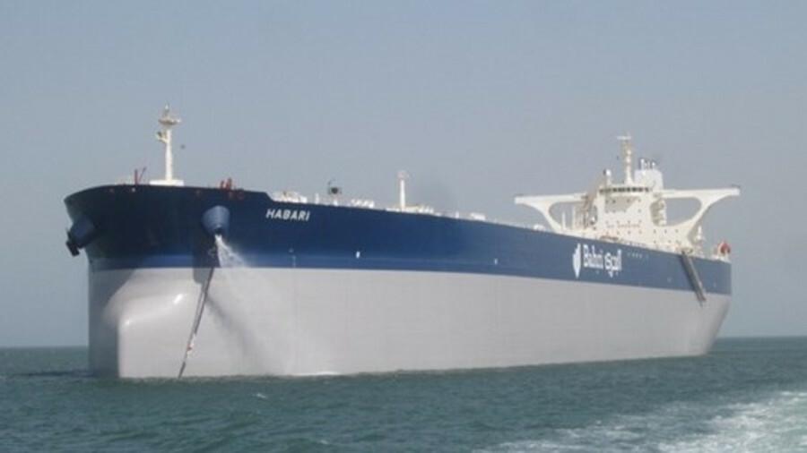 Image of <i>Habari</i> oil tanker, courtesy Bahri