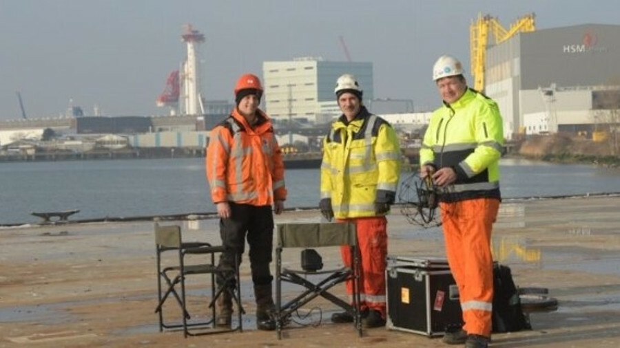 Two thrones and a drone: RIMS certified by eight classification societies for remote inspection tech