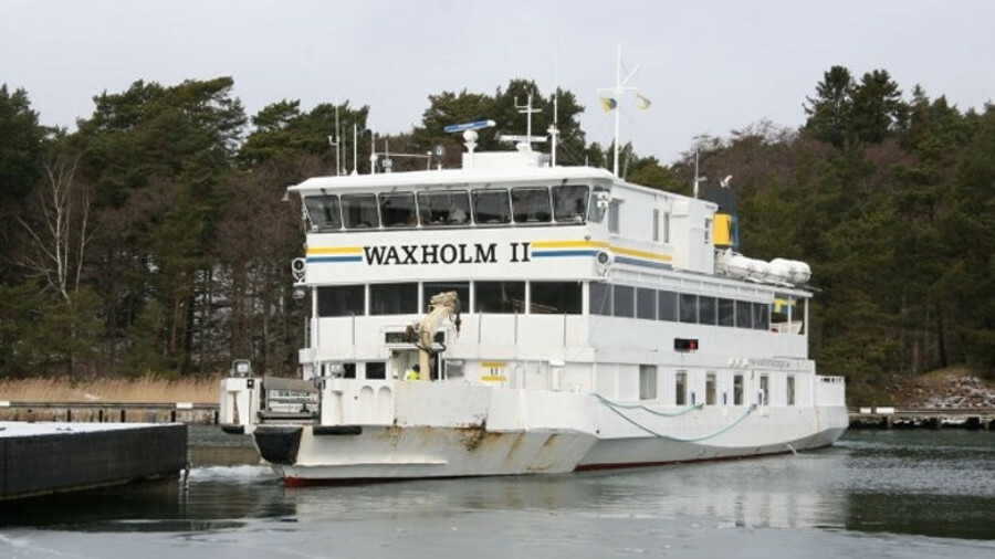 Damen Shiprepair's refit of Waxholm II will bring the ferry up to the latest standards of safety, co