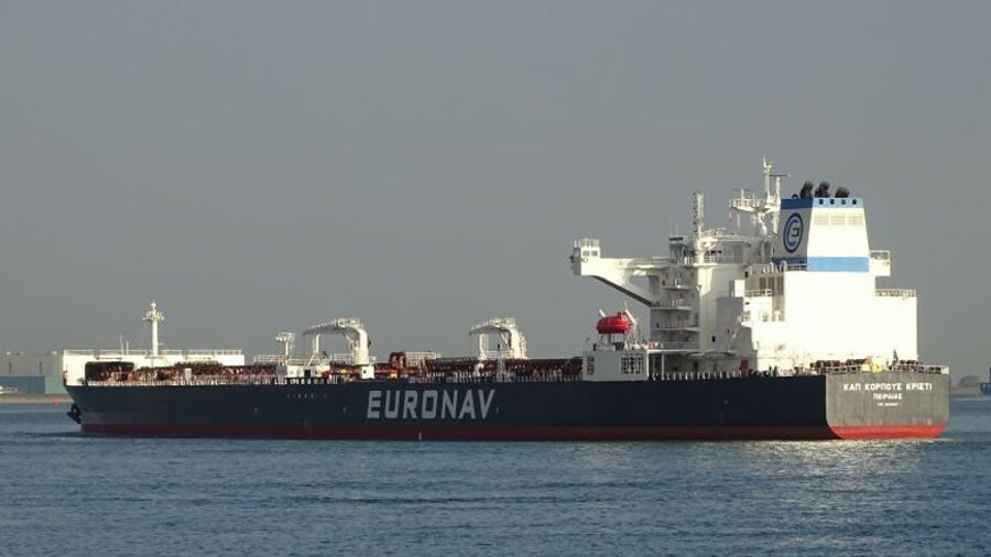 New Suezmax tanker extends Euronav fleet