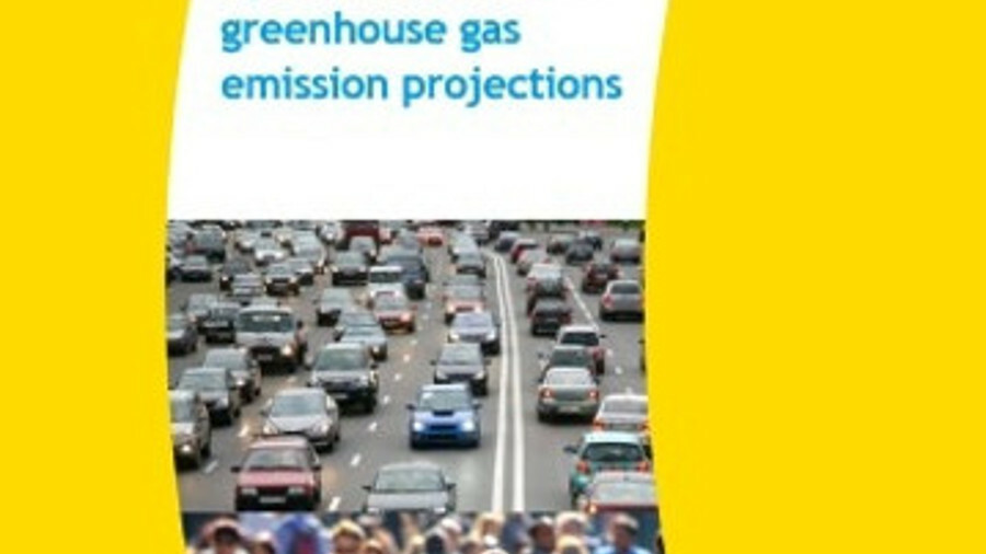 A revised calculation using recent OECD projections shows less pessimistic emissions forecasts for s