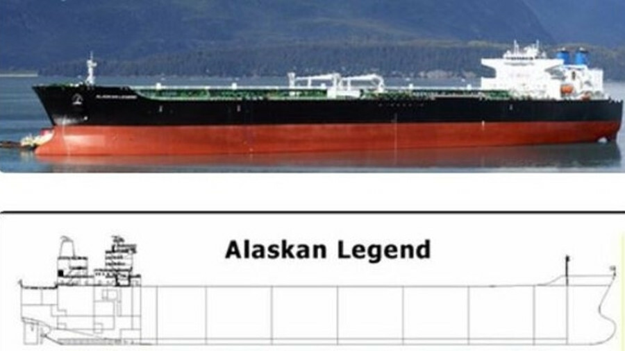 Alaskan Legend: a 2006 US-built twin-engine, twin-propeller VLCC to be retrofitted with Ecochlor BWM