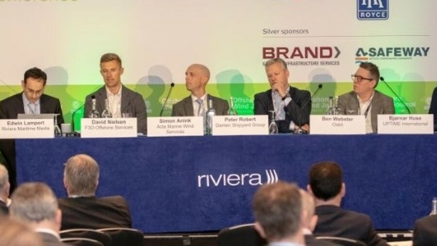 A panel discussion at the 2019 Offshore Wind Journal Conference focused on SOVs, CTVs and offshore a