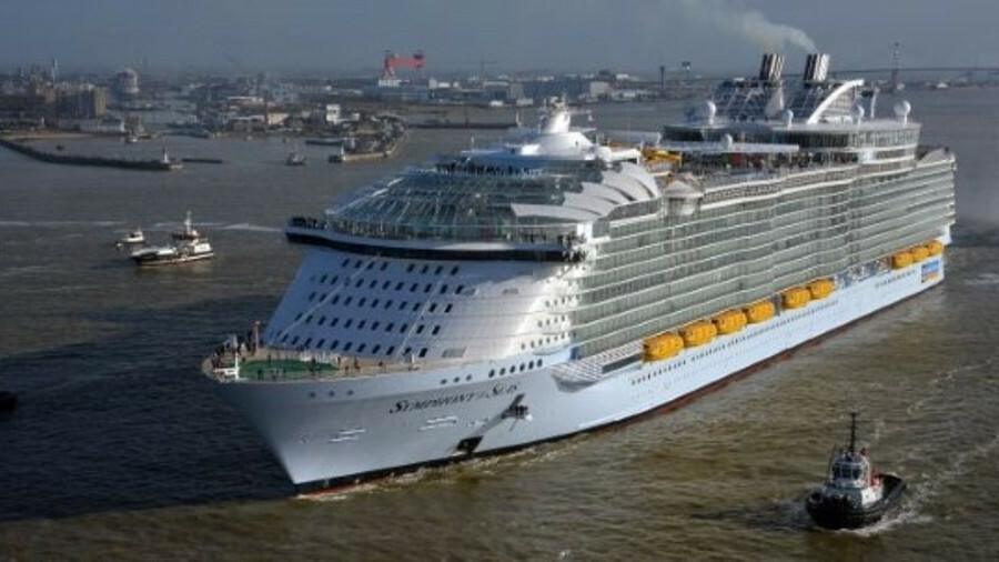 Chantiers de l'Atlantique is to build a sister ship to Symphony of the Seas (pictured)