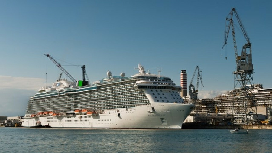 Princess Cruises' three new Royal-class cruise ships have all met key milestones in their constructi