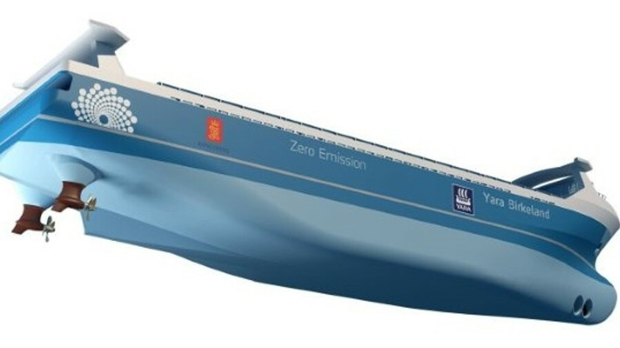 Propulsion chosen for breakthrough autonomous box ship