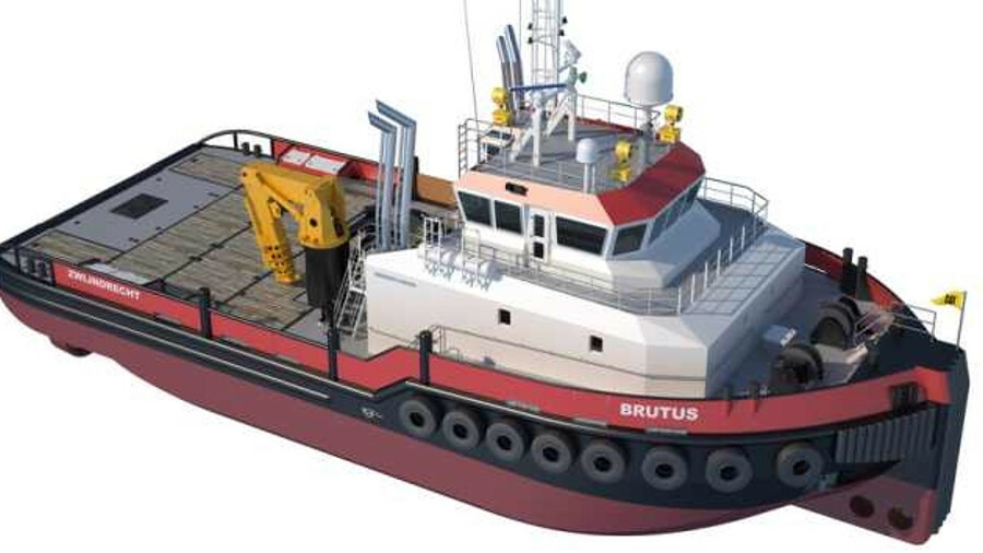 Brutus will had DP-2, shallow draught and 60 tonnes of bollard pull