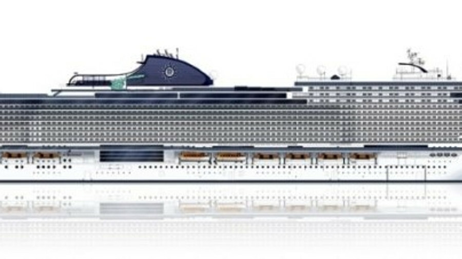 MSC Cruises' Seaside EVO class will add 4.8MW of engine power and 2MW of propulsion power compared t