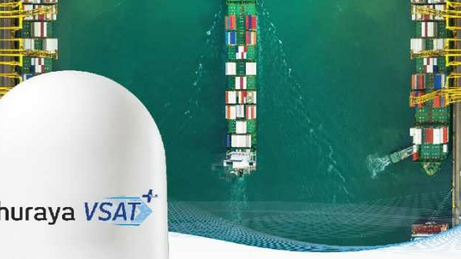 Thuraya VSAT+ is designed to deliver Ku-band VSAT to merchant ships
