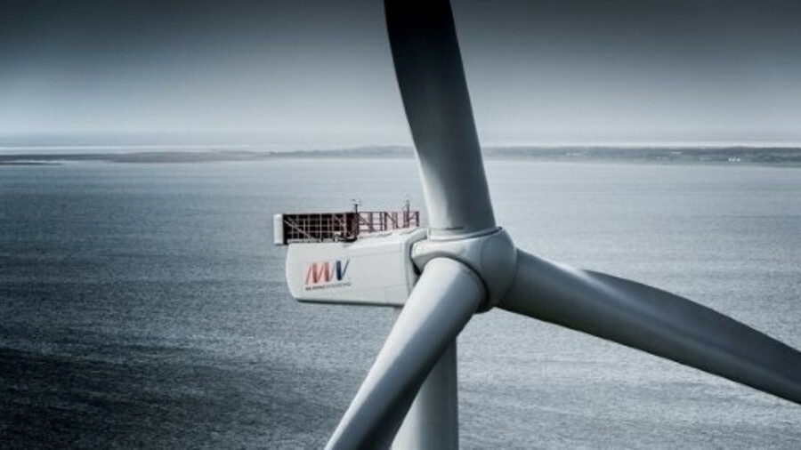 Vineyard Wind will be the first use in the US of the V164-9.5 MW offshore wind turbine from MHI Vest