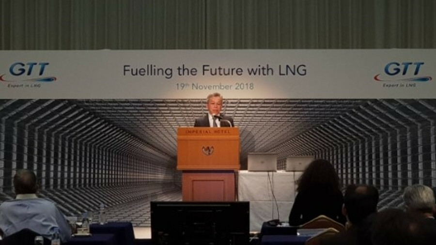 GTT Seminar November 2018 'Fuelling the Future with LNG' (Photo courtesy Twitter, @AscenzChia)