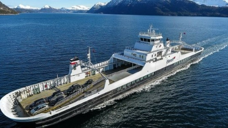 Fjord1 is retrofitting Norangsfjord and installing a charging system at port