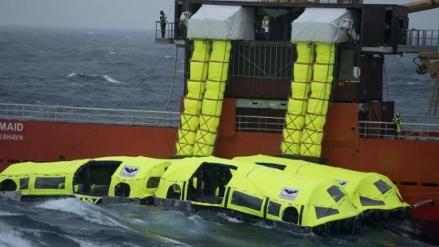 Viking Life-Saving Equipment says that its new LifeCraft really will raise the bar for passenger ves