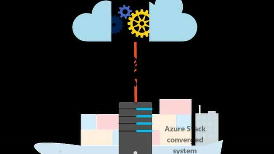 Marlink's satellite communications links ships to Microsoft's Azure Stack services