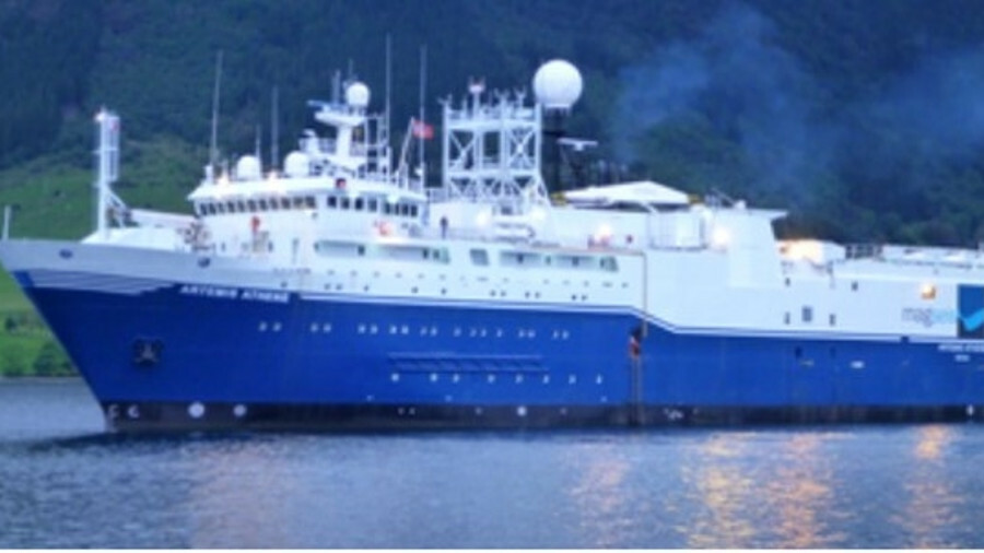 Magseis Fairfield will use Artemis Athene for its survey work source: Maritim Management