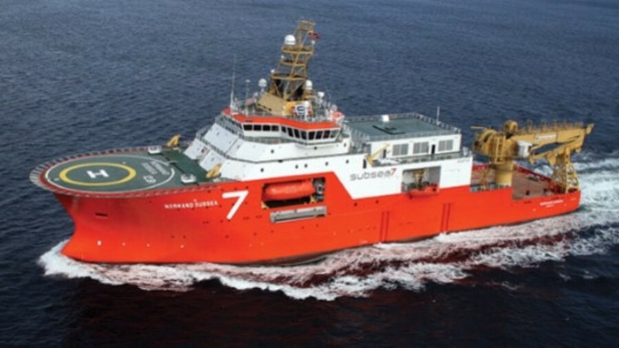 The IMR, survey and light construction vessel Norman Subsea (source: Subsea 7)