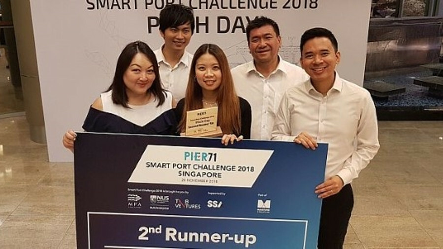Claritecs won third place at the PIER71 Smart Port Challenge pitch day