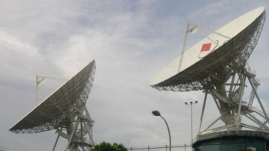 Bukit Timah Satellite Earth Station, a key part of Singtel's satellite communications infrastructure