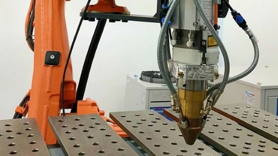 Additive manufacturing can be used to print both small, complex parts and larger parts demanded by t