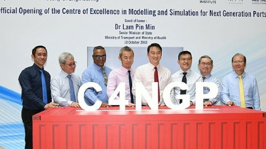 C4NGP's formal opening took place in October 2018 (credit: National University of Singapore)