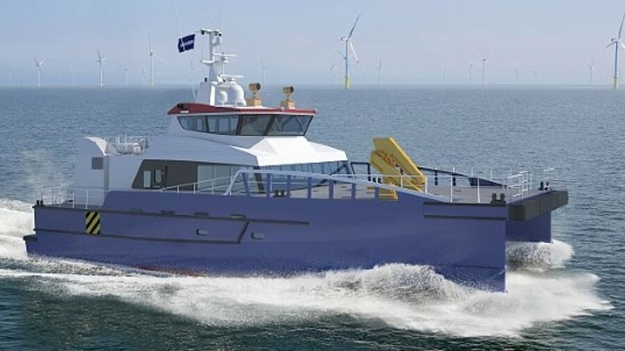 HHC's two FCS 2710 vessels will be optimised for their area of operations offshore Taiwan (credit: D