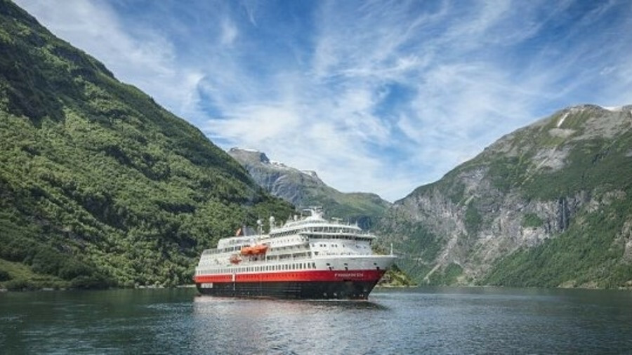 Hurtigruten will install shore-power connectivity and prepare Finnmarken for future battery pack ins