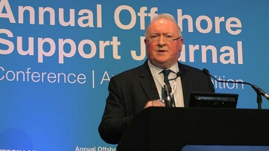 """Duncan Telfer (Swire Pacific Offshore Operations): """"Training must continue, but there's going to be"""