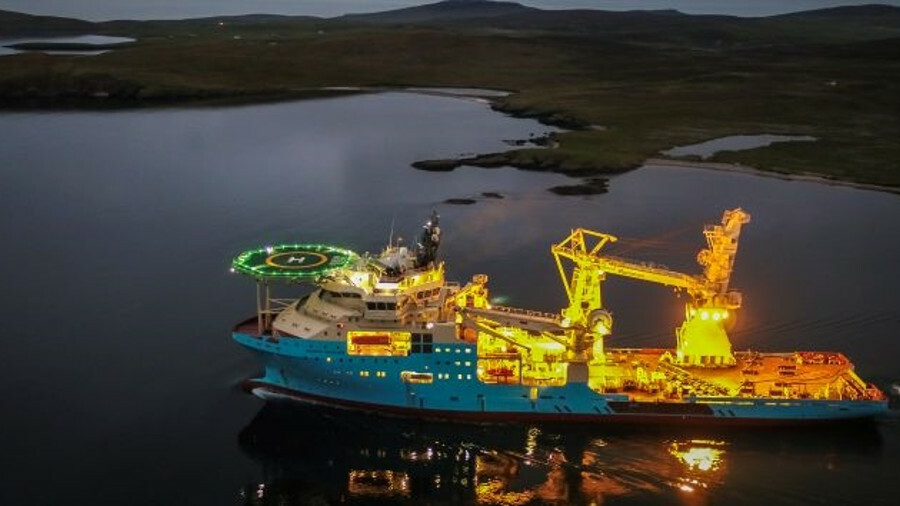 Maersk Inventor, one of four new Stingray-class subsea support vessels, owned by Maersk Supply Servi