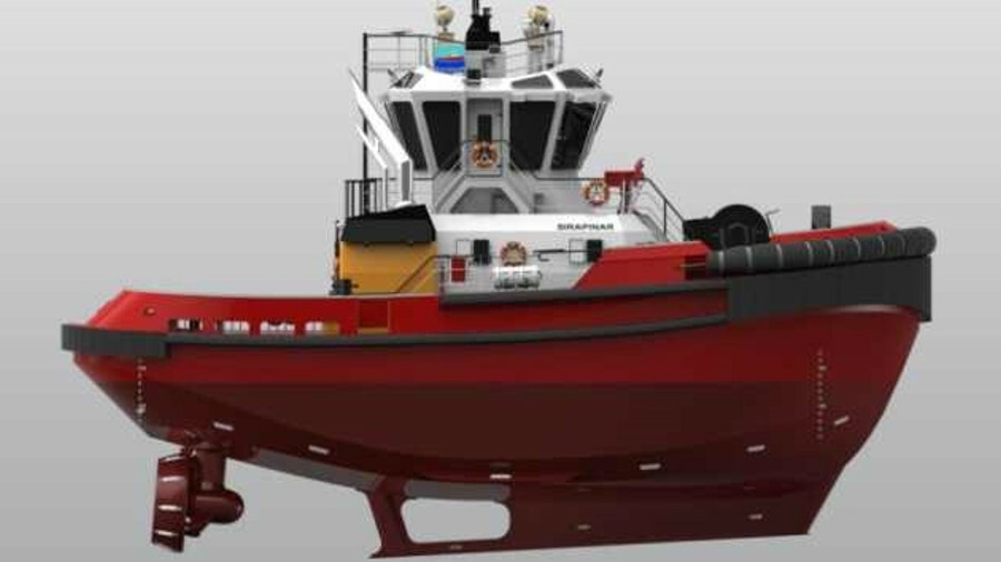Sanmar will build two Sirapinar-class tugs for Svitzer's Oman terminal operations