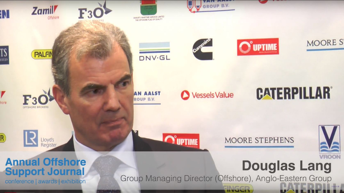 Douglas Lang, Group Managing Director (Offshore), Anglo-Eastern Group