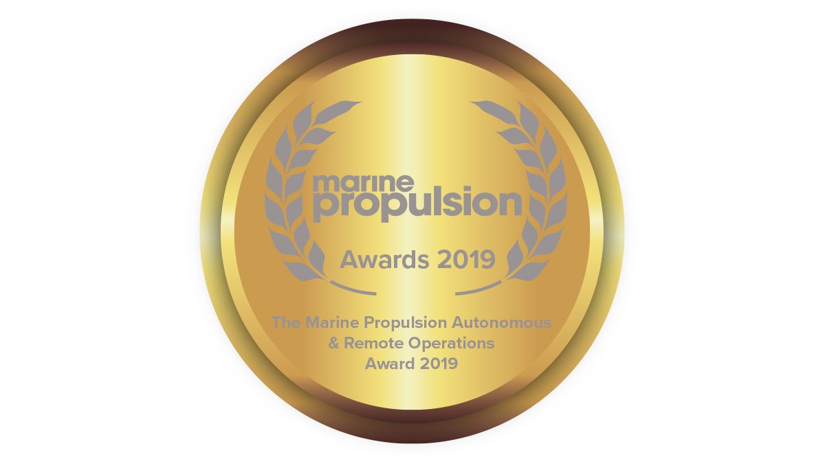The Marine Propulsion Autonomous & Remote Operations Award