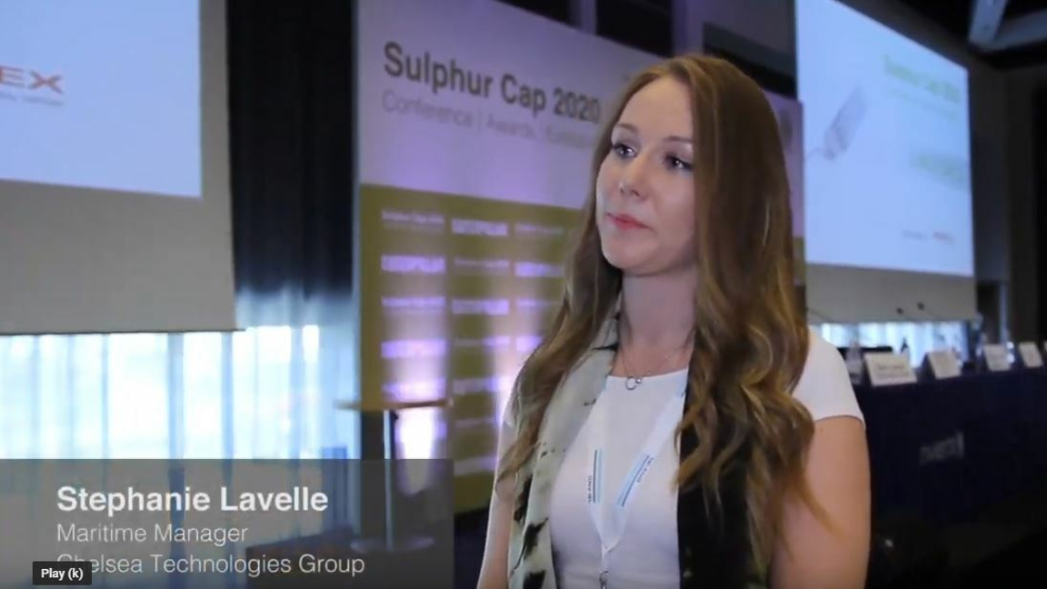 Stephanie Lavelle of Chelsea Technologies Group on the latest MEPC session 2018